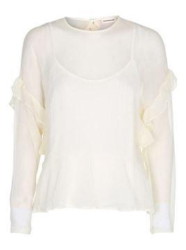Smuk, feminin bluse fra Custommade
