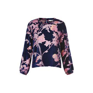Blomstret bluse fra Nümph