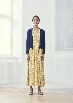 Agnete gul maxikjole fra Baum und Pferdgarten