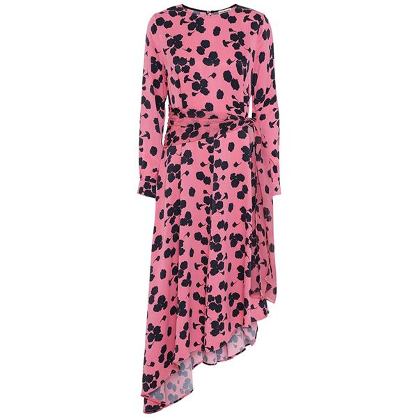 PARIS pink kjole fra Custommade