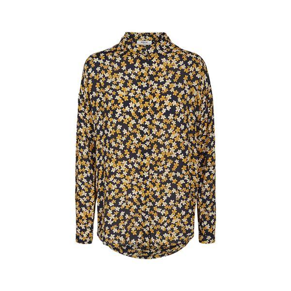 Blomstret skjorte fra Moss Copenhagen