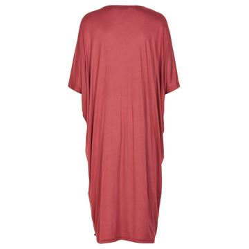 Kimber rød t-shirt kjole fra Nümph
