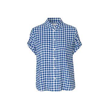 Majan blå skjorte fra Samsøe Samsøe